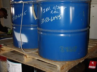 6 DRUMS OF DOW CORNING 561 TRANSFORMER OIL (2 PALLETS THAT ARE STACKED)