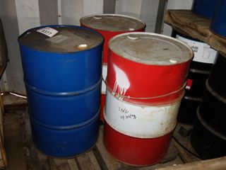 1 PALLET OF ASSORTED TRANSFORMER OIL BARRELS