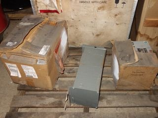 1 PALLET OF ASSORTED TRANSFORMERS, GE, TIERNEY