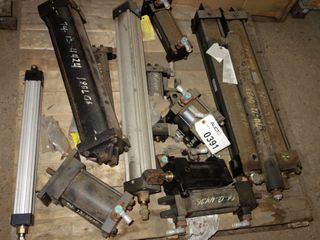 1 PALLET OF ASSORTED PNEUMATIC CYLINDERS, PARKER