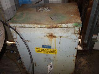 WESTINGHOUSE DT-3 75KVA 480/120V-AC TRANSFORMER