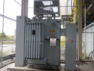 ABB Substation 5000/5600KVA 13800V-AC OIL FILLED TRANSFORMER