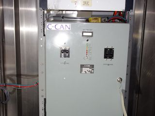 PANEL OF ASSORTED C-CAN RECTIFIER CONTROLS