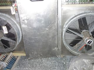 "LOT OF 2 35"" WOODS CLIMAFAN FAN Ventilator 480V-AC"