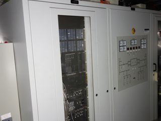 3X SECTIONS OF ABB OVERCURRENT PROTECTION CABINET