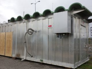 ABB POWER CONTROL TRAILER WITHOUT CONTENTS
