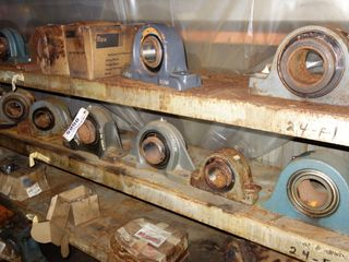 LOT OF ASSORTED PILLOW BLOCK BEARINGS, REXNORD