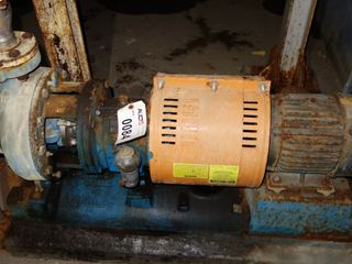 GOULDS 3196 5HP MTX STAINLESS CENTRIFUGAL PUMP MOTOR Size: 2 X 3-10