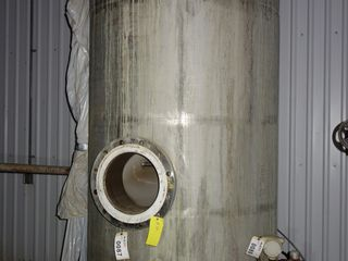 STAINLESS TANK 50PSI / 650F 54in diameter x 10ft tall