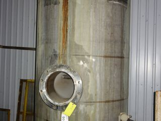 STAINLESS TANK 50PSI 650F 54in diameter x 10ft tall