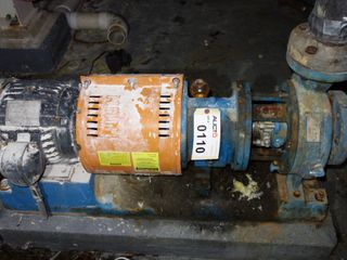 GOULDS 3196 3X4-8 7.5HP MTX STAINLESS CENTRIFUGAL PUMP MOTOR