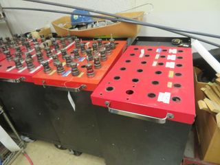 Tool Carts and Tooling, (4) lot