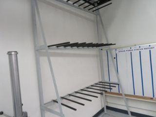 Parts Storage Racks (lot)