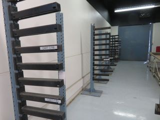 Parts Storage Racks, (lot)