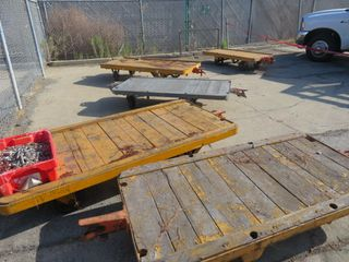 Rolling Carts (5) Lot