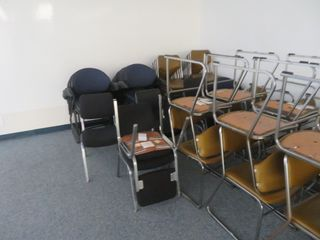 Office chairs, LOT, many