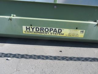 Hydropad Containment System, 12 Ton per axle Capacity, December Delivery