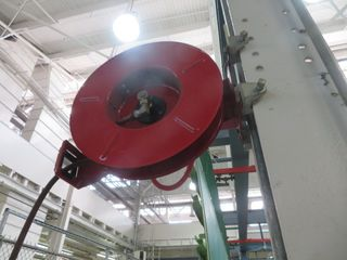 Air Hose Coil Reels (4) Lot