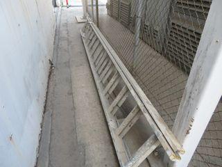 Long Aluminum Ladder