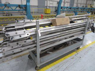 Aluminum Cart and Contents