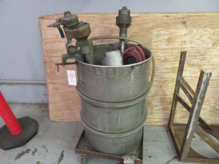 Stainless Steel Drum and Pumps