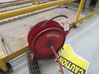 Air Hose Coil Reel