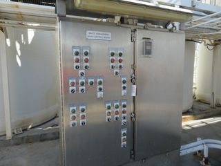 Stainless Steel Electrical Control Panel