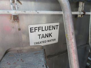 Stainless Steel Effluent Tank