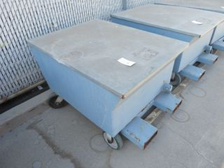 Steel Containment Carts on Wheels
