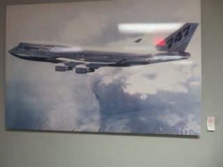 "Boeing 747 Pictures, Approx. 36"" X 48"", Collectors Item"