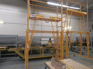 Tele-Tower Work Platform