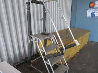 Aluminum Step on Wheels