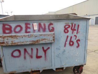 Metal Dumpsters on Wheels
