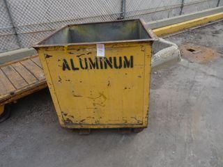 Metal Scrap Bin