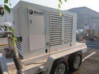 Onan Model 150 DGFA, 60 Cycle, 3 Ph Backup Generator, 150 KVA
