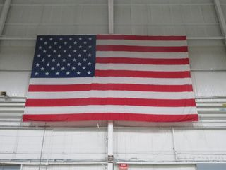 American Flag, Huge, Approx. 28' W and 20'