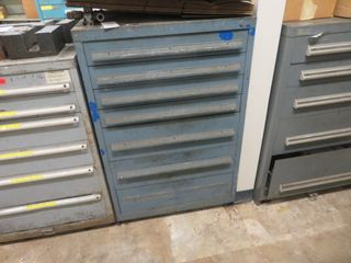 6 Drawer Cabinet with Contents