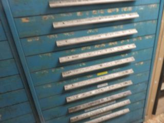 10 Drawer Tool Cabinet and Contents