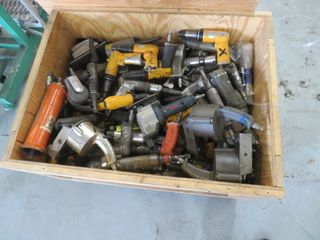 Crate of pneumatic tools, (lot)