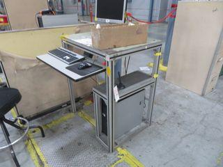 Aluminum Computer Desk/Stand