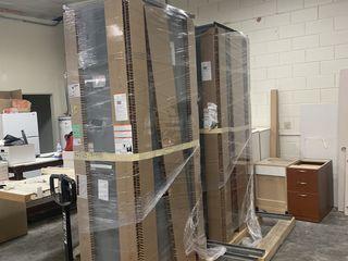2 x 600A Breaker Enclosures w/ Breakers