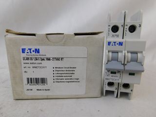 (24) Eaton WMZT2CX1T Plug In WMZT 2P 1.5A 120/240VAC 50/60Hz