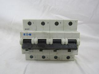 (3) Eaton mMCT-C100/4 Plug In 4P 100A 120/240VAC 50/60Hz