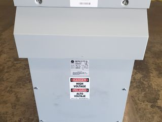 (1) General Electric 37GMDW0103D Transformer 480V 3Ph 60Hz 103A
