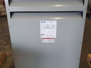 (1) Eaton V48M22E7516 Dry Transformer 75KVA 3PH 60Hz