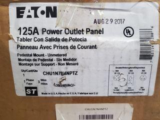 (1) Eaton CHU1N7N4NPTZ Unmetered Pedestal 30R