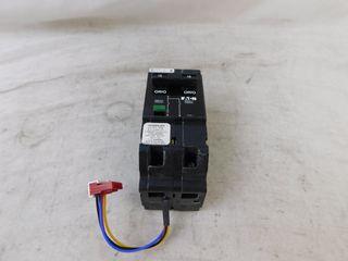(2) Eaton GHQRSPEL2015 Dual Function 1P 15A 277VAC 50/60Hz
