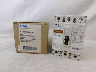 (1) Eaton HFDDC3110WF01Y31 MCCB HFD 3P 110A 600VAC 50/60Hz