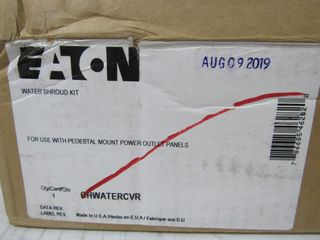 (12) Eaton CHWATERCVR Panel Accy Water Shroud