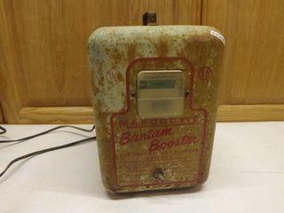 Vintage Bantan Booster Battery Charger / works